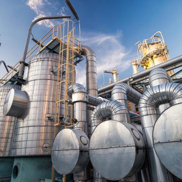 Molecular sieve dehydration system : Oil and gas Refinery
